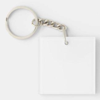 Kreiere Deinen eigenen quadratischen Schlüsselanhä Schlüsselanhänger