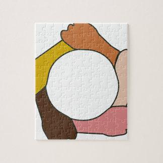 Kreis der Hände Puzzle