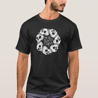 Kreis der Schädel T-Shirt