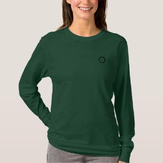 """""""Kreis des Grundes Monogramm bildend"""" T-Shirt"""