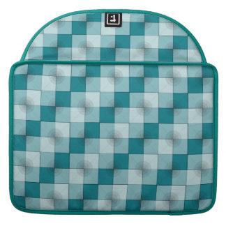 """Kreis-Quadrate 15"""" Macbook Prohülse MacBook Pro Sleeves"""