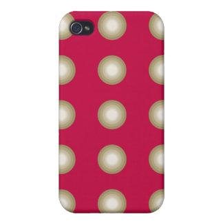 Kreist Rot ein iPhone 4 Etui