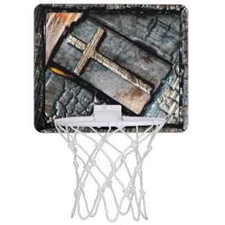 Kreuz des Schutzes Mini Basketball Ringe