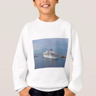 Kreuzfahrt-Schiff, das Malta verlässt Sweatshirt