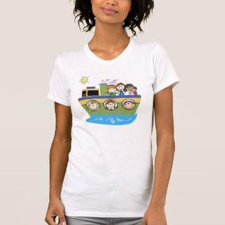 Kreuzfahrt-Schiffs-Thema-T - Shirt