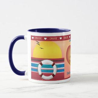 Kreuzfahrt-Thema Cruisin Großmutter personalisiert Tasse