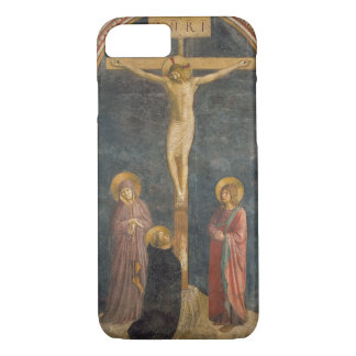 Kreuzigung mit der Jungfrau, SS. John das Evangeli iPhone 8/7 Hülle