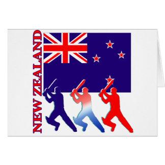 Kricket Neuseeland Karte