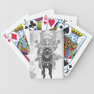 Krieger zu Pferd Bicycle Spielkarten