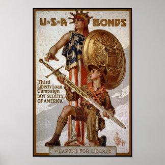 Kriegs-Bindungen Poster