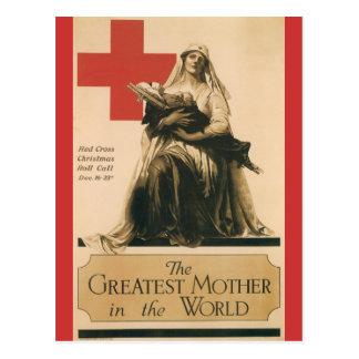 Kriegs-Postkarten, Vintages rotes Kreuz Postkarten
