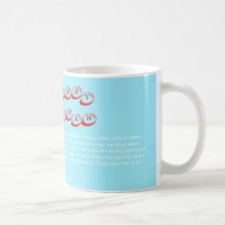 Kriegsführung und Einhörner Kaffeetasse