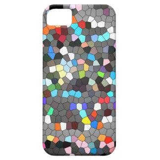 Kristallpixel-Punkt-Kunst iPhone 5 Schutzhülle