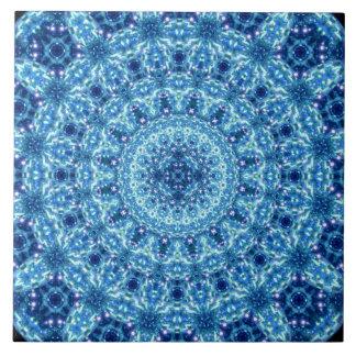 Kristallstrahlen-Mandala Große Quadratische Fliese