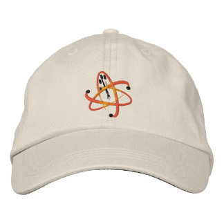 Kritischer Verwirrungs-Logo-Hut Bestickte Kappen