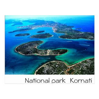 Kroatien - adriatisches Meer Postkarte