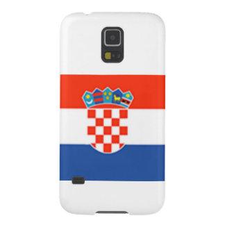 Kroatien-Flagge Hülle Fürs Galaxy S5