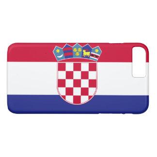 Kroatien-Flagge iPhone 8 Plus/7 Plus Hülle