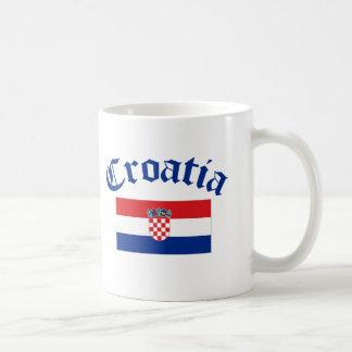 Kroatien-Flagge Tasse