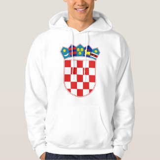 Kroatien-Wappen Stunde Hrvatska Hoodie