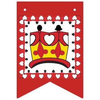 KRONE SCHERZT Party-Flaggen-Fahne Wimpelketten