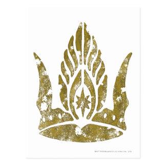 Krone von Gondor Postkarte