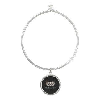Kronen-Festzug-Armband-Armband Chrm Fräulein-USA Armreif