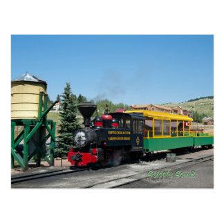 Krüppel-Nebenfluss u. Siegers-Schmalspur-Eisenbahn Postkarte