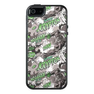 Krypton-Grün und Grau OtterBox iPhone 5/5s/SE Hülle
