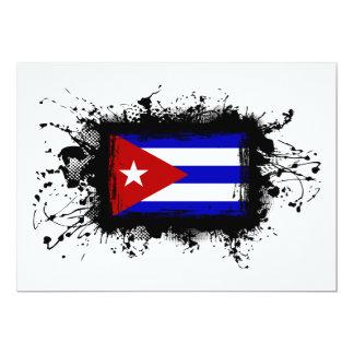 Kuba-Flagge Karte