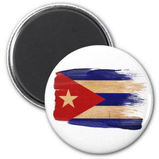 Kuba-Flaggen-Magneten Runder Magnet 5,7 Cm