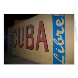 Kuba libre karte