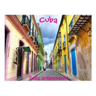 Kuba-Postkarte Postkarte