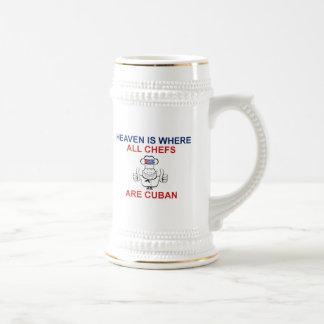 Kubanische Köche Bierkrug