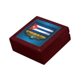 Kubanischer Stolz Kleine Quadratische Schatulle