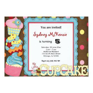 Kuchen-Geburtstag 12,7 X 17,8 Cm Einladungskarte