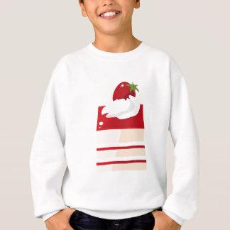 Kuchen mit Erdbeere Sweatshirt