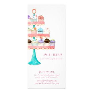 Kuchen-Nachtisch-Backen-Bäckerei-Geschäfts-Paket Werbekarte