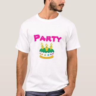 Kuchen, Party scherzt T - Shirt
