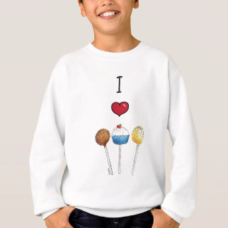Kuchen-Pop der Liebe I Sweatshirt