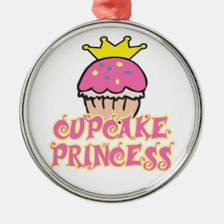 Kuchen-Prinzessin Silbernes Ornament