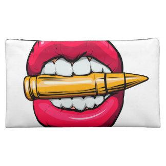 Kugel im Mund Cosmetic Bag