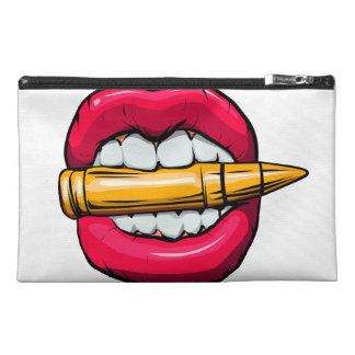 Kugel im Mund Reisekulturtasche