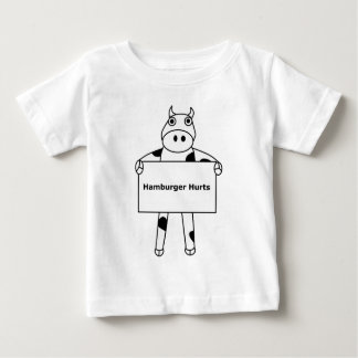 Kuh:  Hamburger-Schmerzen Baby T-shirt