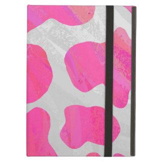 Kuh-Pink-und weißerdruck
