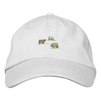 Kühe Bestickte Kappe