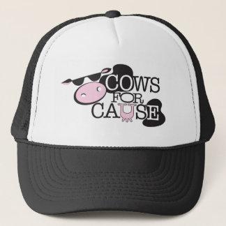 Kühe für Ursache Truckerkappe
