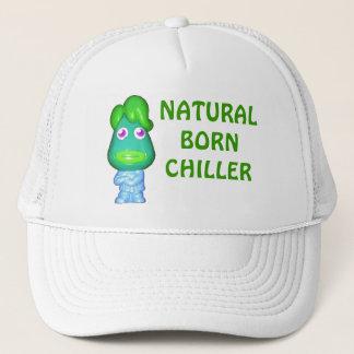 Kühler-von Geburt kleines grünes alien Truckerkappe