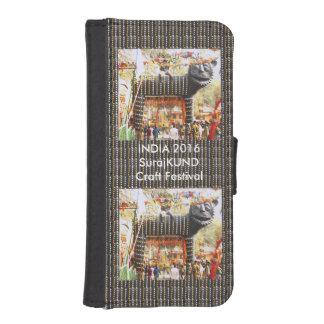Kultur-Festival 2016 Indiens SurajKUND Handwerks-n Geldbeutel Hülle Für Das iPhone SE/5/5s
