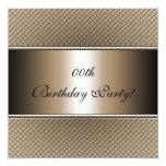 Kundengebundene Geburtstags-Party Einladungen Quadratische 13,3 Cm Einladungskarte